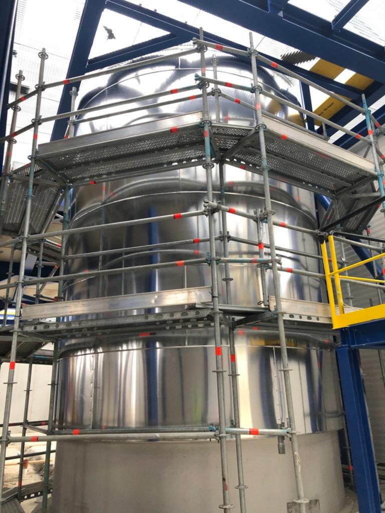 Agrana Zucker GmbH, Tanks insulation and cladding
