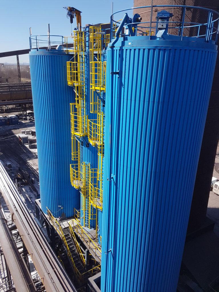 US Steel Košice a.s., Flue-gas cleaning