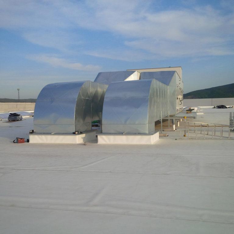 Volkswagen BA, vzduchotechnické rozvody
